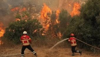 FOTO Incendio activo hoy avanza en la Sierra Gorda de Querétaro (Twitter 23 mayo 2019 queretaro)