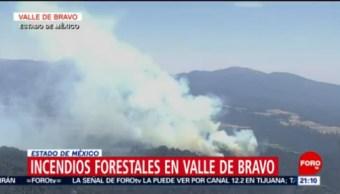 Foto: Incendios Forestales Valle De Bravo 10 de Mayo 2019