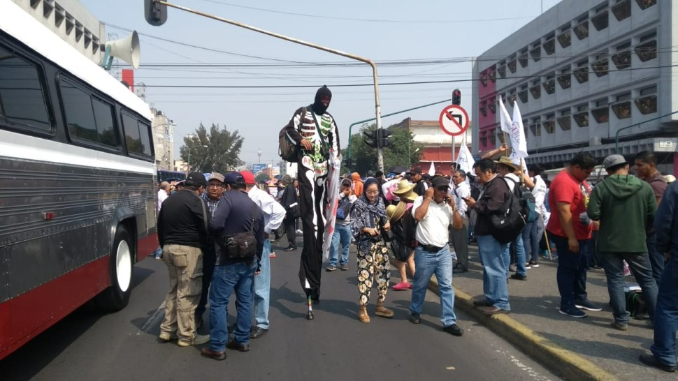 Foto Inician marchas por el 15 de Mayo en la CDMX mayo