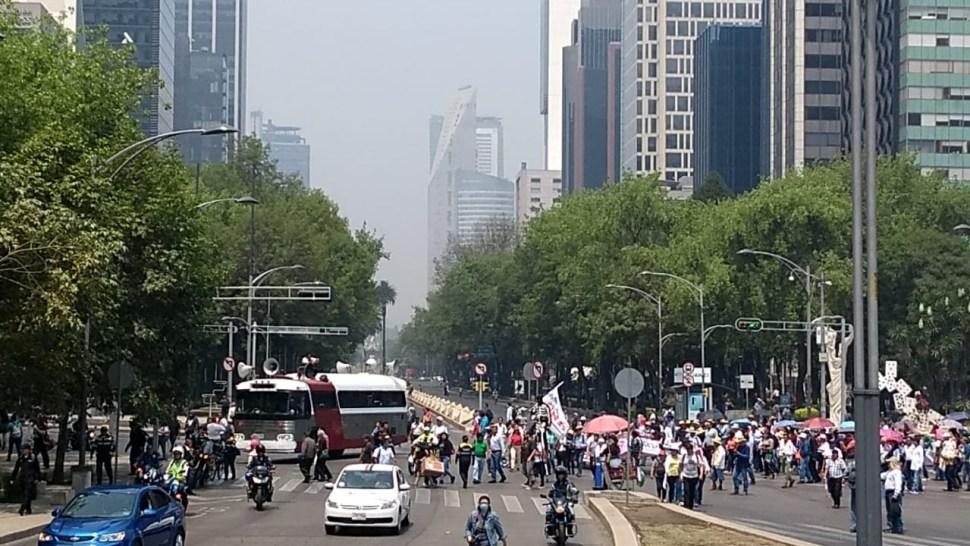 Foto Contingente marcha sobre Paseo de la Reforma por el 15 de Mayo en la CDMX 15 mayo 2019