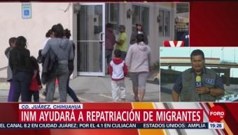 Foto: INM Ayudará Repatriación Migrantes 15 de Mayo 2019