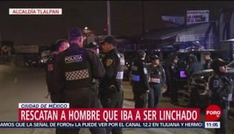 Intentan linchar a hombre en poblado de Topilejo, CDMX