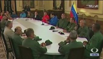 FOTO:Juan Guaidó llama a hacer paros escalonados en Venezuela, 1 MAYO 2019