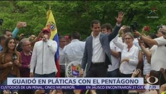 Juan Guaidó ordena establecer contactos con el Pentágono