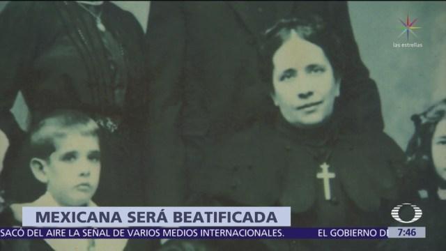 FOTO: La mexicana María de la Concepción Cabrera Armida será beatificada, 1 MAYO 2019