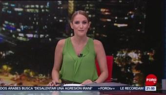 Foto: Las Noticias Danielle Dithurbide Forotv 24 Mayo 2019