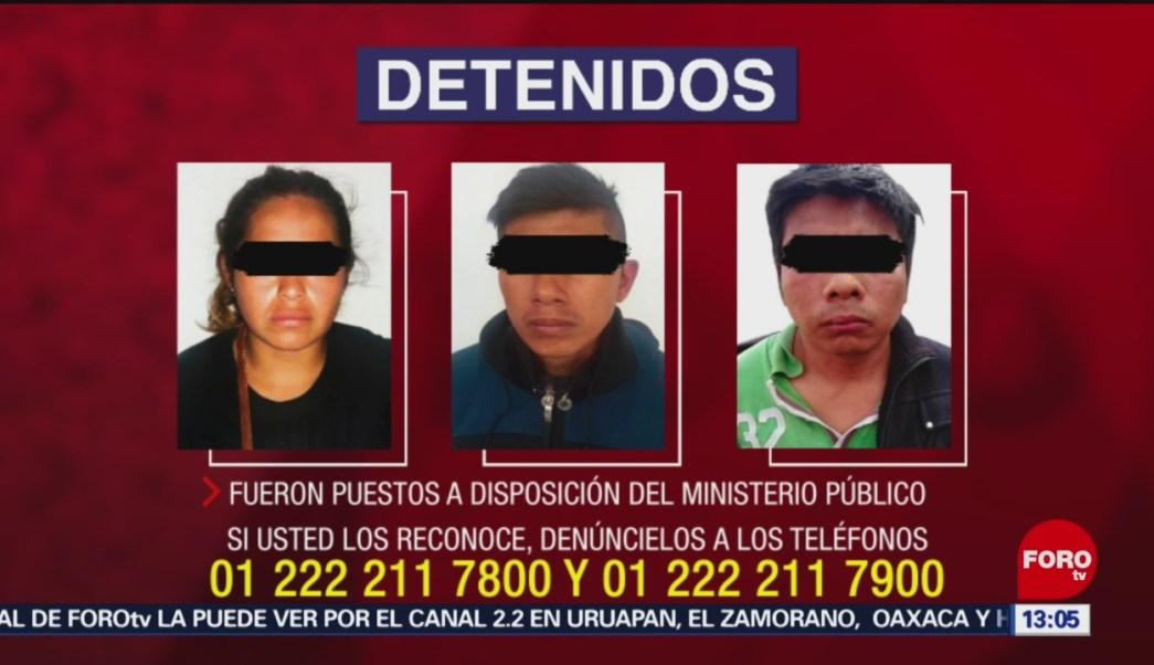 FOTO: Liberan a madre e hija secuestradas en Puebla, 24 MAYO 2019