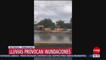 Foto: Lluvia Inundación Reynosa Tamaulipas 14 de Mayo 2019