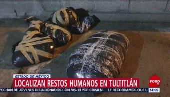 FOTO: Localizan restos humanos en Tultitlán, Estado de México, 19 MAYO 2019