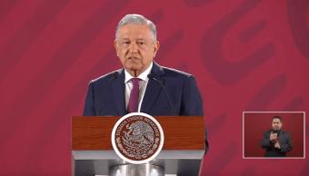 Foto: López Obrador en conferencia de prensa, 2 de mayo de 2019, Ciudad de México