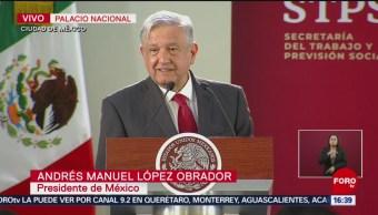 FOTO: López Obrador encabeza conmemoración del Día Internacional del Trabajo, 1 MAYO 2019