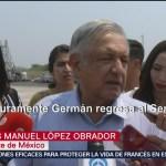 FOTO: López Obrador reacciona a renuncia de Martínez Cázares