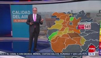 FOTO: Mala calidad del aire en el Valle de México