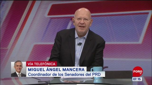 Mando de la Guardia Nacional es de carácter civil, dice Mancera