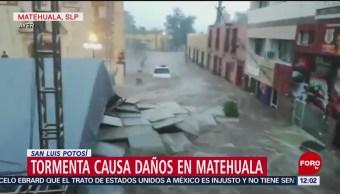 Matehuala hace recuento de daños tras tormenta e inundaciones