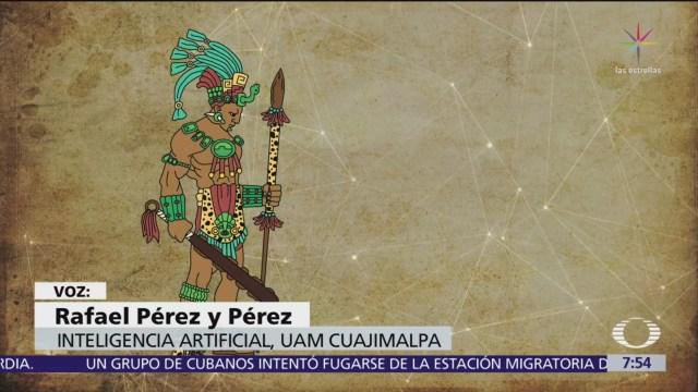 FOTO:Mexica, el programa digital que escribe cuentos, 1 MAYO 2019