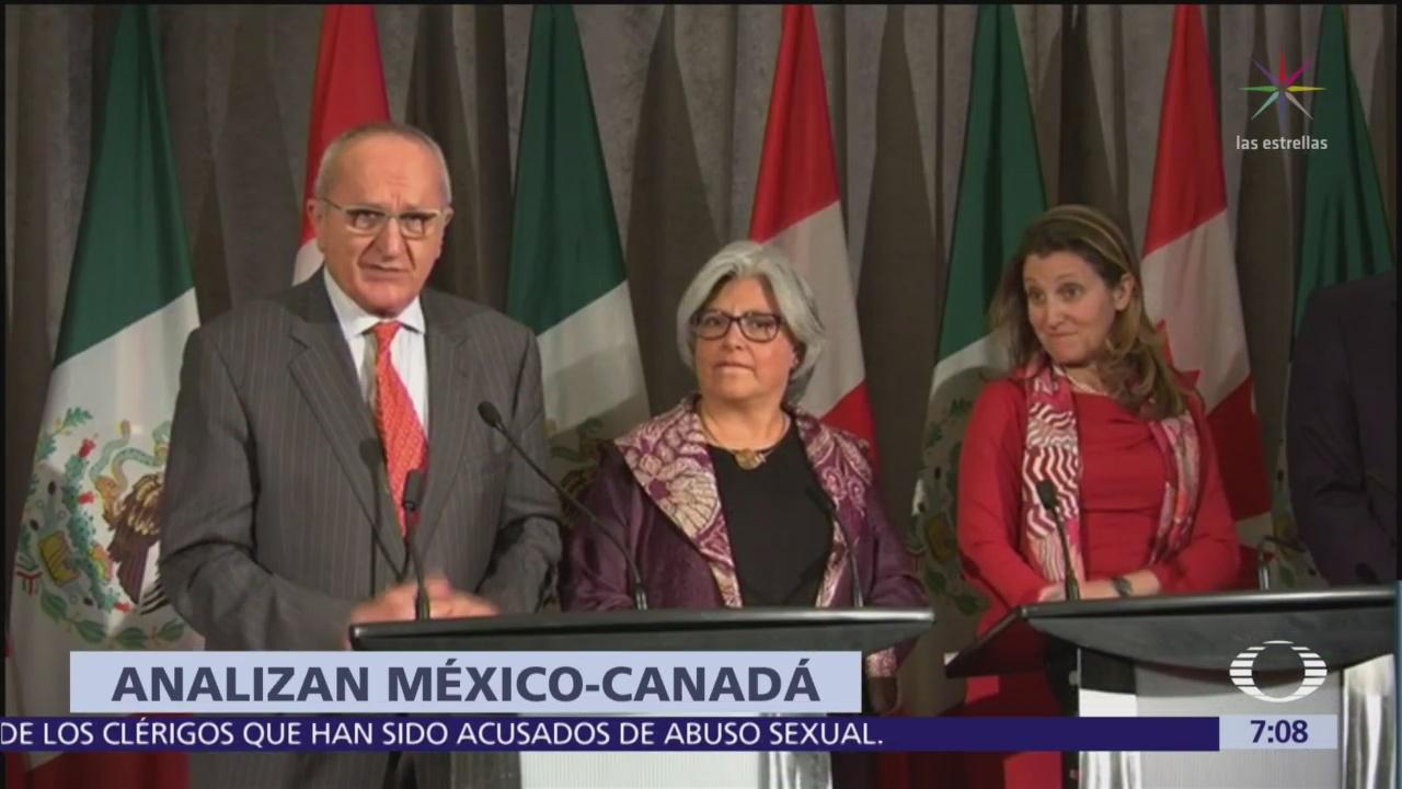 México y Canadá forman frente común contra aranceles de EU