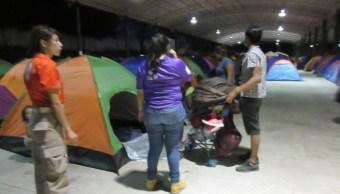Foto: atención a migrantes, 8 de mayo 2019. (Facebook-Instituto Nacional de Migración)