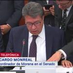 Monreal: Aprobación de leyes de la Guardia Nacional, esfuerzo de grupos parlamentarios