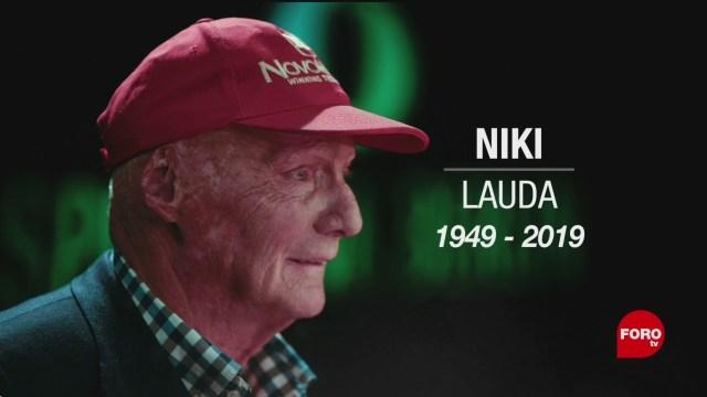 Foto: Muere Niki Lauda Expiloto Formula 1 20 Mayo 2019