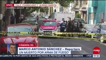 Foto: Muere presunto asaltante tras balacera en Chabacano