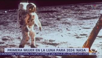 NASA enviará primera mujer a la Luna en 2024