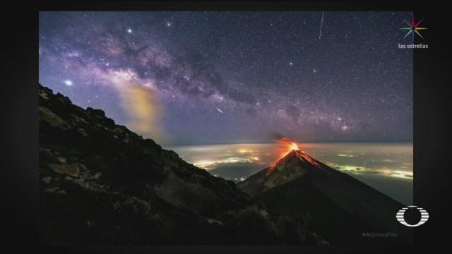 Foto: Nasa Imagen Volcán Fuego Guatemala 27 Mayo 2019
