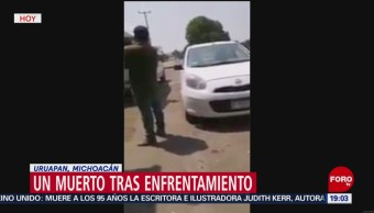 Foto: Nuevo Enfrentamiento Uruapan Michoacán Hoy 23 Mayo 2019