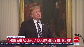 Foto: Ny Ley Declaraciones Impuestos Trump 22 Mayo 2019