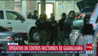 FOTO: Operativo en centros nocturnos de Guadalajara, Jalisco, 4 MAYO 2019