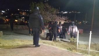 Foto: Operativo de seguridad en Guanajuato, 7 de febrero de 2019. Twitter @GtoSeguridad