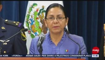 Patricia Bugarín Gutiérrez deja la Subsecretaría de Seguridad de la SSPC