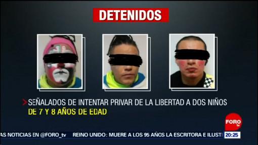 Foto: Payasos Secuestro Niña Neza 23 Mayo 2019