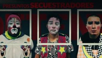 Detienen a tres payasos en Neza acusados de secuestrar menores