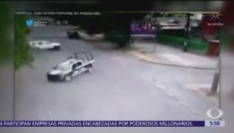 Persecución policíaca en Cuautitlán Izcalli deja un delincuente detenido