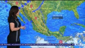Persisten temperaturas calurosas en gran parte de México