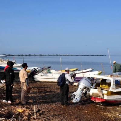 Realizan censo y credencialización para pescadores de Campeche
