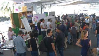 Foto: En el Plastianguis se ofrecieron actividades de entretenimiento para niños y adultos y como premio les ofrecieron artículos reciclados, el 18 de mayo de 2019 (Noticieros Televisa)