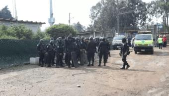 Foto: Policías en penal de Guatemala, 7 de mayo de 2019, Guatemala