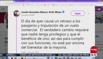 FOTO: Presenta renuncia titular de la Semarnat, 25 MAYO 2019