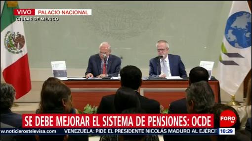 Presentan estudio económico de México 2019