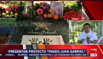 Presentan proyecto 'Paseo Juan Gabriel' en Chihuahua
