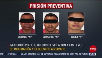 FOTO: Prisión preventiva contra implicados en caso Adame en Morelos, 19 MAYO 2019
