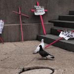 Foto: Protestas contra feminicidios en México, 18 de marzo de 2018, Ciudad de México