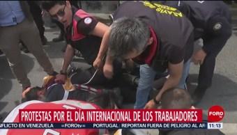FOTO: Protestas por el día internacional de los trabajadores, 1 MAYO 2019