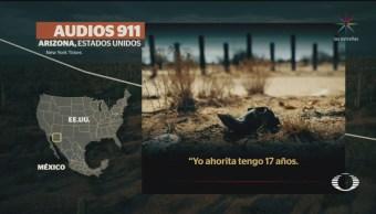 Foto: Audios Llamadas Auxilio Migrantes 911 30 Mayo 2019
