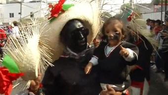 Recrean en Peñón de los Baños la Batalla de Puebla