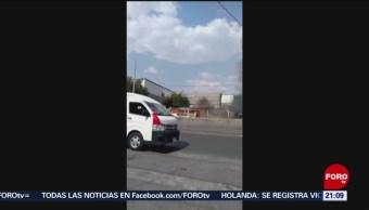 Foto: Queman Combi Ecatepec Edomex 23 Mayo 2019