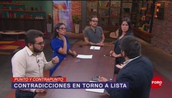 Foto: Lista Periodistas Contratos Gobierno EPN 27 Mayo 2019