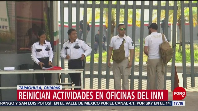 Foto: Reanudan actividades de regularización migratoria